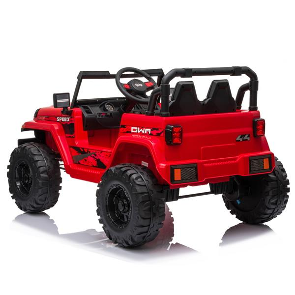 LEADZM LZ-9956 Dual Drive 12V 7A.h with 2.4G Remote Control Electric Car Red