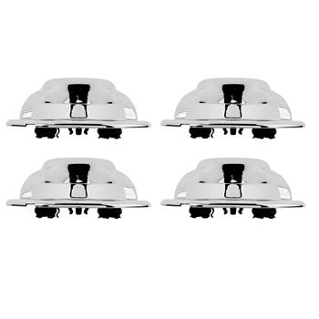 4 Pcs Chrome Wheel Center Hub Caps for 97-00 Ford F150 Expedition Alloy Rim ONLY