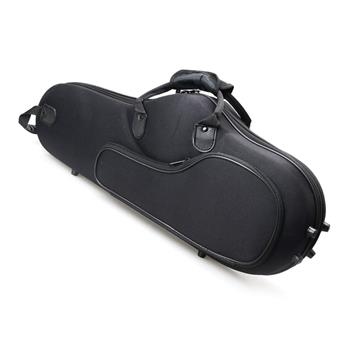 [Do Not Sell on Amazon]Glarry High Grade Durable Cloth Alto Saxophone Case Saxophone Box Black
