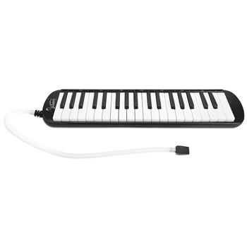 [Do Not Sell on Amazon]Glarry 37-Key Melodica with Mouthpiece & Hose & Bag Black
