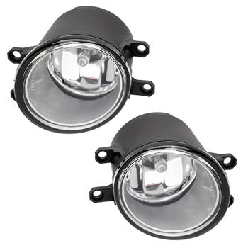 For 2012-2014 Toyota Camry Clear Bumper Fog Lights w/Bulbs&Switch&Chrome Cover