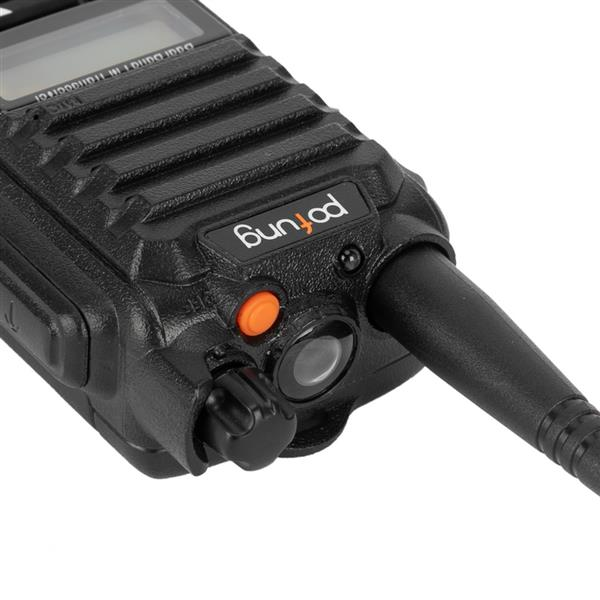 pofung P52UV GMRS Dual Power Tube 5W (detachable Antenna) Handheld Walkie-Talkie 1800mAh Battery UK