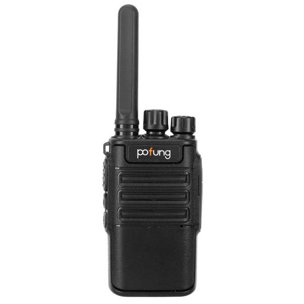 pofung USB 2pcs F8 2W 1500mAh 16-Channel Black Detachable Panel Fixed Antenna USB Integrated Charger Adult Analog Walkie-Talkie