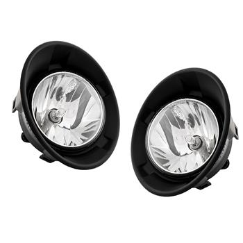 2qty Fog Lights For 2010-2013 Chevrolet Camaro Clear Direct Replacement