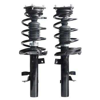 For Ford Focus 2012-2013 2 Front Warranty Pair Shocks Struts & Coil Spring Set