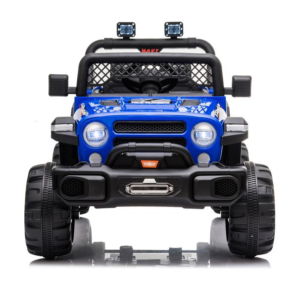 BBH-016 Dual Drive 12V 4.5A.h with 2.4G Remote Control off-road Vehicle Blue