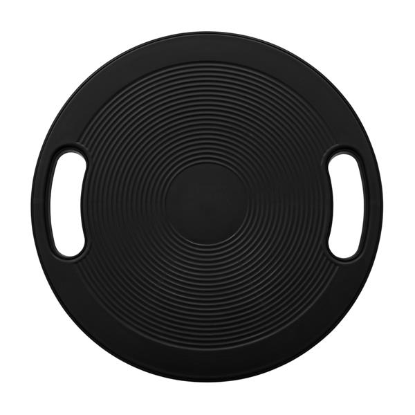Swing Balance Board Advanced Fitness Therapy Board with Handle Black
