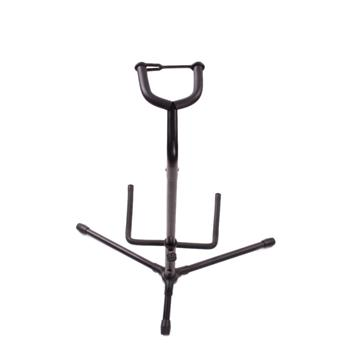 [Do Not Sell on Amazon]Glarry Tubular Acoustic/Electric Bass Guitar Stand Holder Black