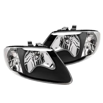 Fit 01-07 Dodge Grand Caravan Black Headlights New and in a good condition 2qty