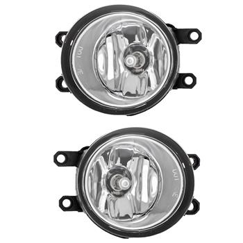 Parts For 07-09 Toyota Camry Chrome Lens Bumper Fog Light Lamp Switch Kits Fit
