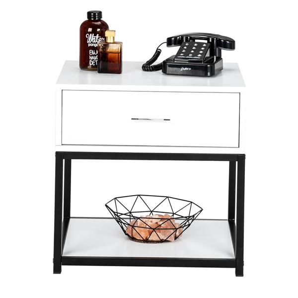 Modern And Simple Style Nightstand - One Draw (Top)