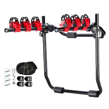 Portable Quick Release Bike Carrier TAR3603 Black & Red