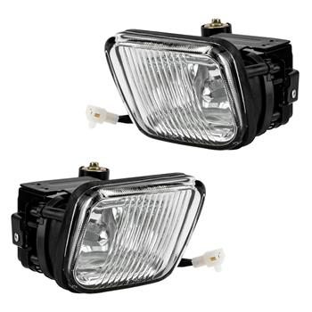 For Honda 96-98 Civic Clear Bumper Fog Lights Clear Lens Lamps&Switch