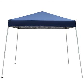 2.4 x 2.4m Portable Home Use Waterproof Folding Tent Blue