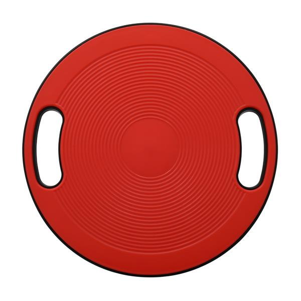 Swing Balance Board Advanced Fitness Therapy Board with Handle Red