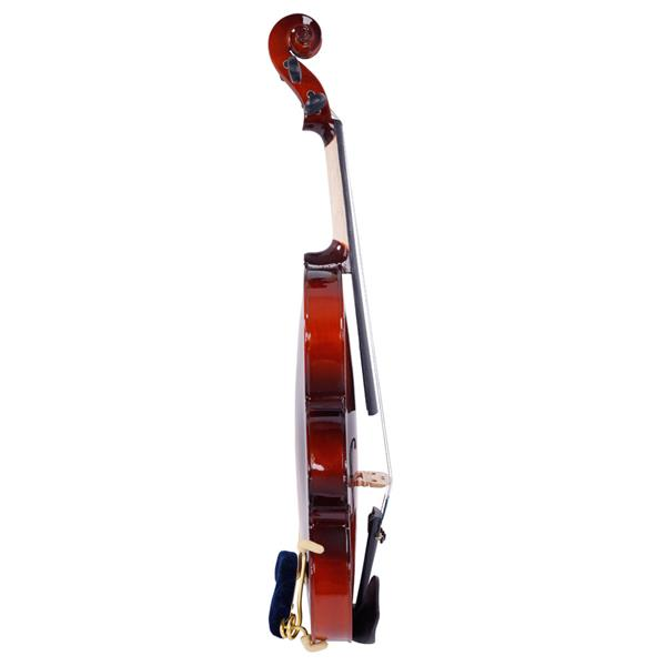 [Do Not Sell on Amazon]Glarry GV100 1/8 Acoustic Solid Wood Violin Case Bow Rosin Strings Shoulder Rest Tuner Natural