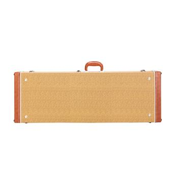 [Do Not Sell on Amazon]Glarry ST High Grade Electric Guitar Square Hard Case Flat Yellow