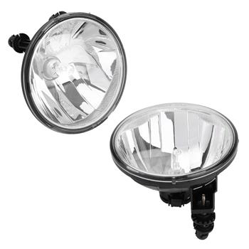 Clear Fog Lights Driving Lamps for 07-13 Chevy Avalanche Suburban Tahoe GMC