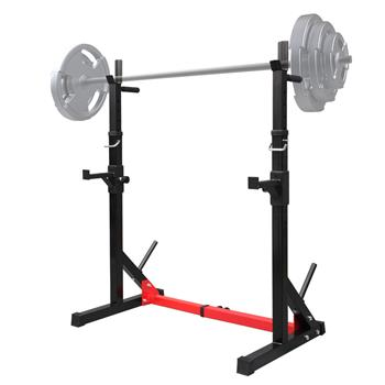 BL-002 Home Indoor Fitness Adjustable Multi-function Barbell Stand Squat Bench Press Trainer