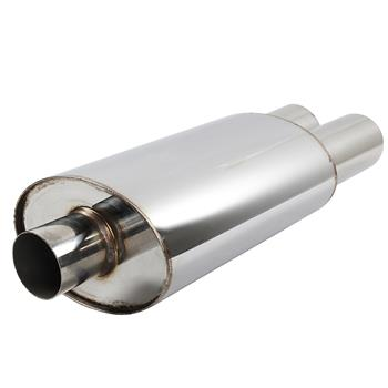 Polished Stainless Steel Exhaust Muffler