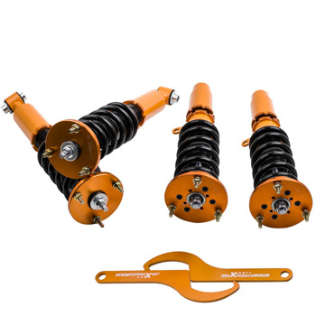 4pcs Racing Coilover Shock Kit For BMW 5 Series E60 2004-2010 Adjustable Height