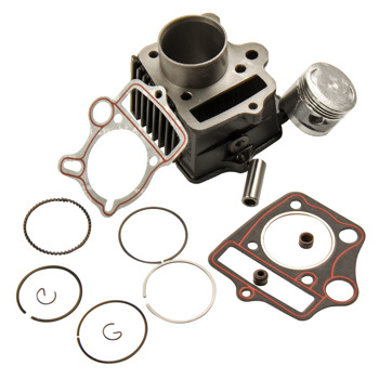 70cc Cylinder Piston for Honda ATC70 CRF70 CT70 C70 TRX70 XR70 S65 Gaskets