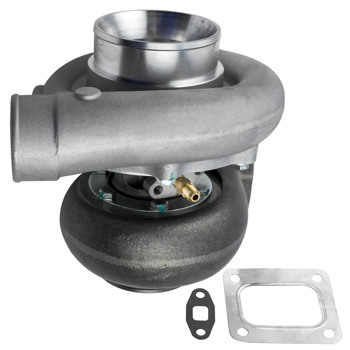 Universal T76 Turbo Charger Perfect for Above 3.5L V6 V8 Cars Compressor A/R 0.80 T4 Turbine flange