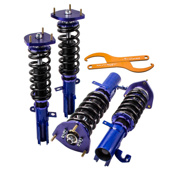 弹簧减震Coilovers Coil Spring Kit For Toyota Corolla 88-99 E90 E100 Adj Height Shocks