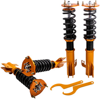 4 pcs Coilovers Kits for Subaru Forester 1998-2002 Adjustable Height Shocks