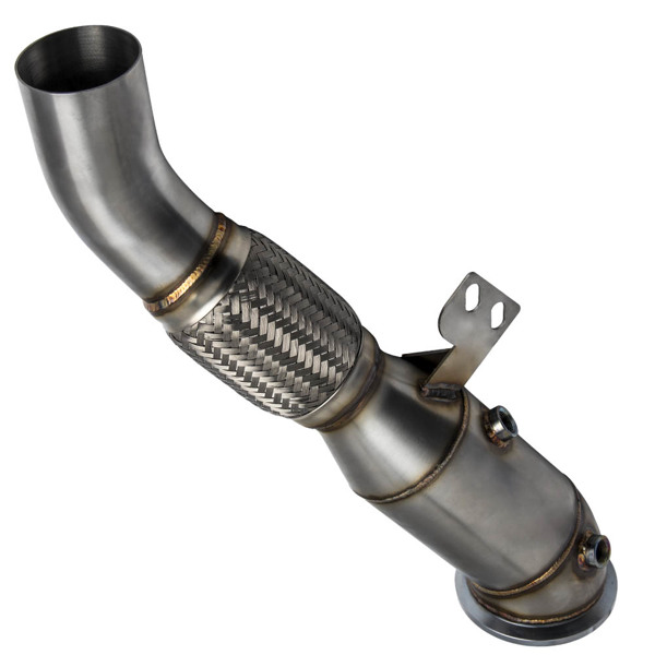 """Stainless Steel 4.5"""" Catless Downpipe for BMW 340i/440i/740i/540i B58 Engine3.0L"""