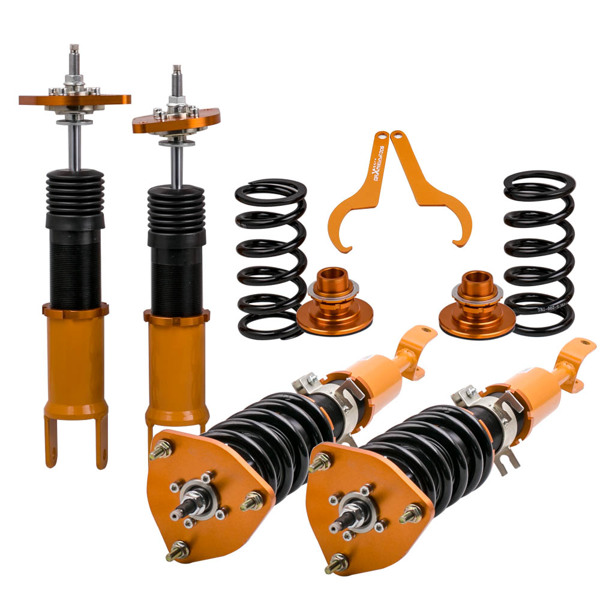 弹簧减震Coilovers Shock Absorber Kits For Nissan Fairlady 350Z Z33 03-08 Adj. Damper