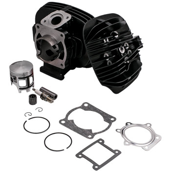 Cylinder Head Piston Gasket Top End Rebuild Kit For Yamaha Blaster 200 1988-2006
