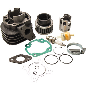 50cc ATV Cylinder Piston Rings Top End Kit Fit for Polaris Scrambler Predator