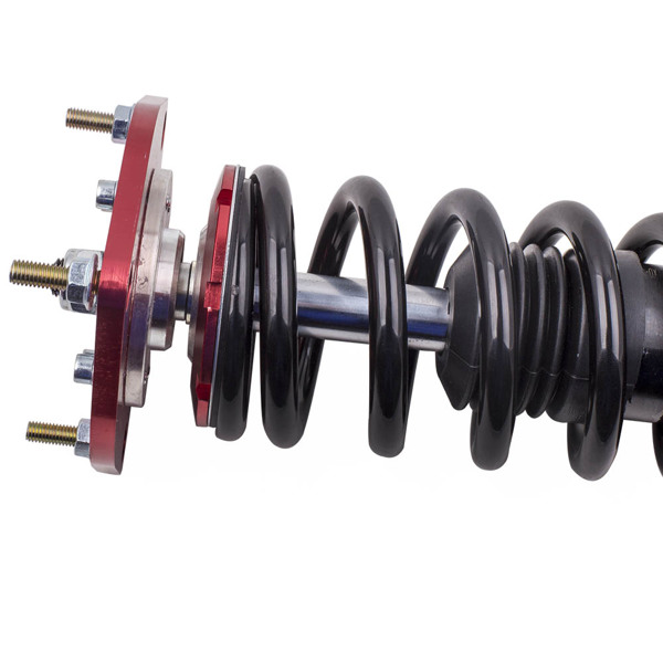 弹簧减震4pcs Front+Rear Shock Struts Coil Spring Assembly Fit 1988-1999 Toyota Corolla