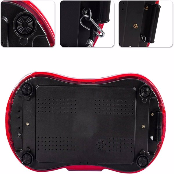 Home Slimming Machine LCD Screen with Bluetooth Red