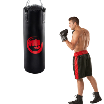 Punching Bag Filled Set , 39 x 14 inches Boxing Hanging Heavy Bag for Kickboxing Fitness Training Muay Thai MMA, Martial Arts, Home Gym