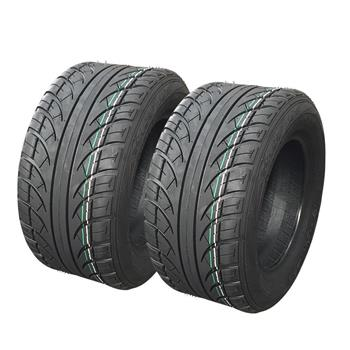 set of 2 205/50-10 4PR Golf Cart Tires DOT Street Legal for EZGO, Club Car