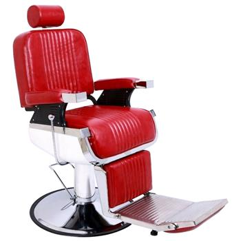 All Purpose Recline Hydraulic Barber Chair Heavy Duty Salon Spa Beauty Equipment Red