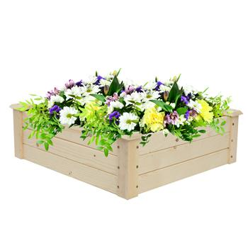Wooden Planting Frame Ground Type 61*61*20cm