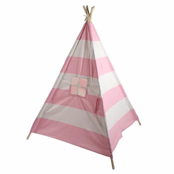 [AWM] Indian Tent 4 (Small Bunting / With External Shutter Built-In Pocket) Pink Stripes