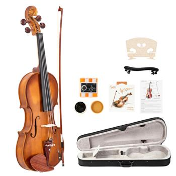 【Do Not Sell on Amazon】Glarry GV103 4/4 Spruce Panel Violin Matte Natural