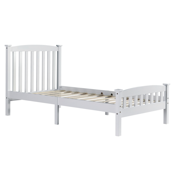 Vertical Bed White Twin