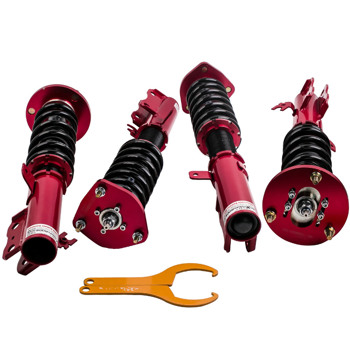 Adj Damper Rear Front Coilovers Lowering Shocks Kits For Toyota Camry  97-01