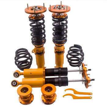 4pcs Dampers Coilovers for BMW E46 328 325 330 1999-2005 Springs Lowering Kits