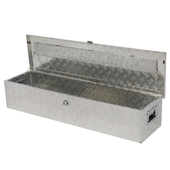"50"" Aluminum Truck Pickup Underbody Underbed Tool Box Trailer Storage ToolBox"