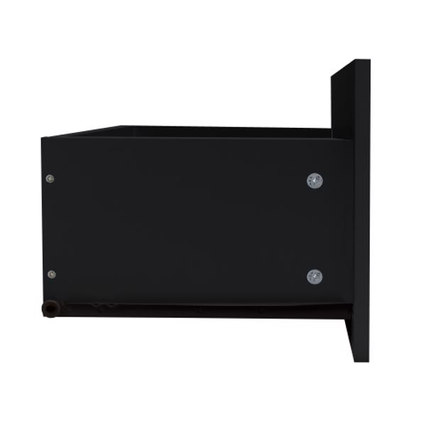 Modern Minimalist TV Cabinet Living Room with 20 colors LED Lights,TV Stand Entertainment Center (BLACK Modern High-Gloss LED TV Cabinet, Simpleness Creative Furniture TV Cabinet