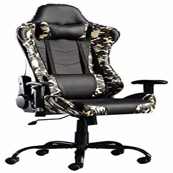 Gaming Chairs, Office Swivel Chairs, with headrest and Lumbar Pillow, Came