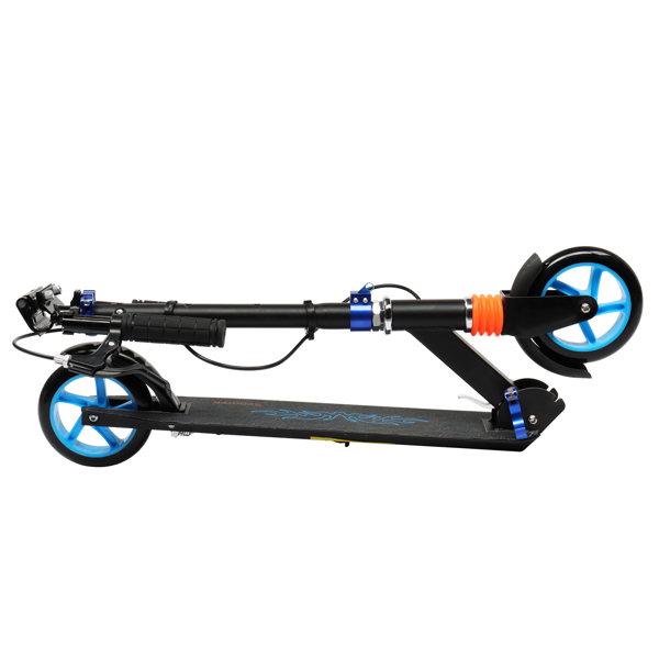Scooter for Adult&Teens,3 Height Adjustable Easy Folding  Blue