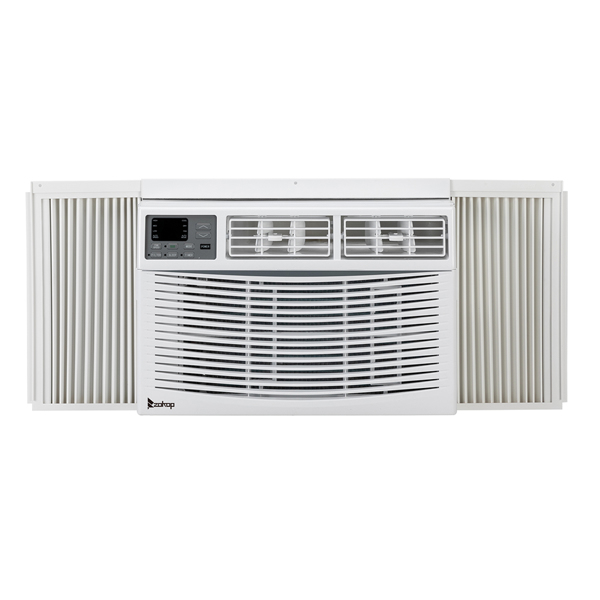 ZOKOP 10000BTU WAC-10000 110V 1050W Air Conditioner White ABS Window Type Refrigeration/Energy Saving/Fan/Dehumidifying Portable All-in-one