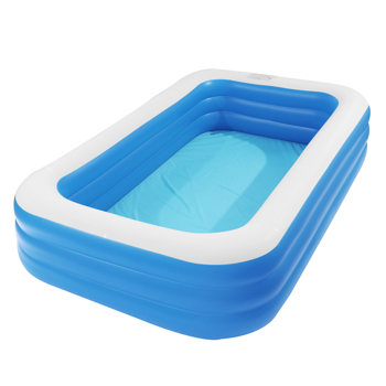 """120"""" x 72"""" x 22"""" Inflatable Swimming Pool - Wall Thickness 0.3mm Blue"""